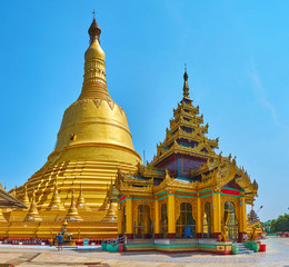The Temple of Golden God, Bago, Myanmar