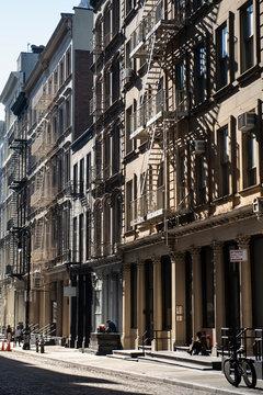 A street in New York City's Soho