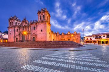 Fotomurales - Cusco, Peru - Plaza de Armas