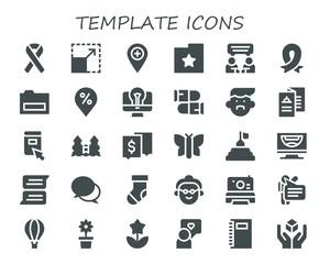 template icon set