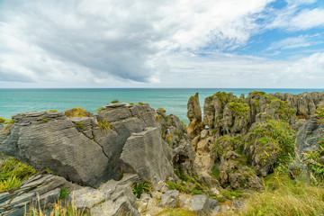 punakaiki pancake rocks, west coast, new zealand 9
