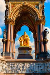 The Albert Memorial in London, UK