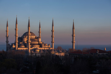 ブルーモスク   イスタンブール  トルコ