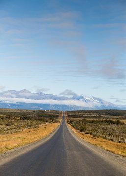 Road in Patagonia.