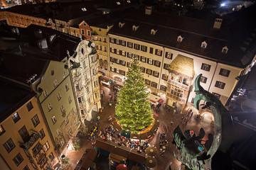 Innsbruck Altstadt  zur Weihnachtszeit