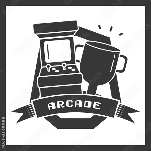 arcade trophy star video game