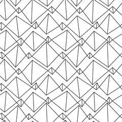 スタイリッシュ幾何学パターン / シームレス