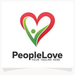 People Love Logo Design Template Inspiration
