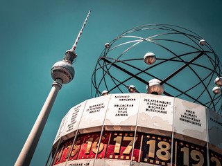 Wall Murals Berlin Berlin Television Tower, low angle