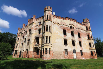 Ruins of the Cesky Rudolec Chateau