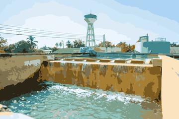 Water treatment process
