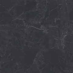 Big black square marble tiles with natural pattern texture background.