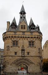 City Gate Cailhau, medieval gate in Bordeaux