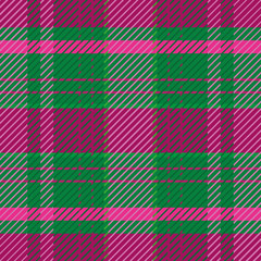 Dark green and purple plaid pattern in summer heather tones.. Seamless elegant vector design. Perfect for stationery, textiles, home decor, giftwrapping and packaging