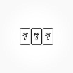 jackpot 777 slot icon