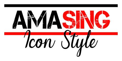 Stylish trendy slogan tee t-shirt graphics print illustration design