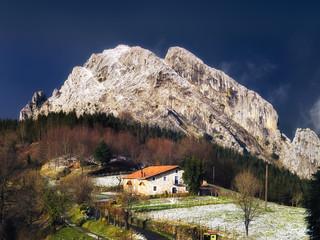 Urkiola in winter