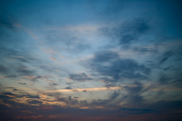 Sunset sky. Texture