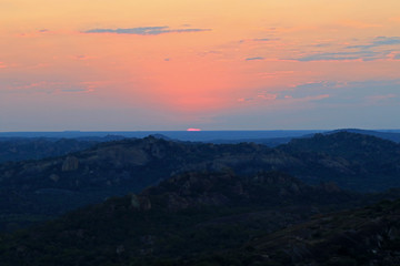Sunset , Matobo National Park, Zimbabwe