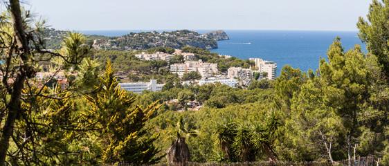Panorama of the Bay Paguera