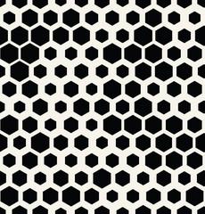 hexagon halftone seamless minimal design pattern, geometric background print texture