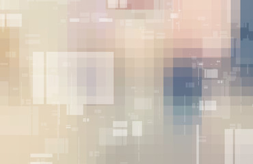 Abstract digital technology mosaic squares gradient background