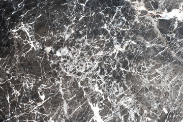 Gray-black marble background, white pattern for floor and wall decoration.