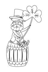 st patricks day cartoon