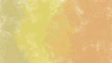 abstract soft yellow and brown brush paint color pattern gradient background, illustration, copy space for text
