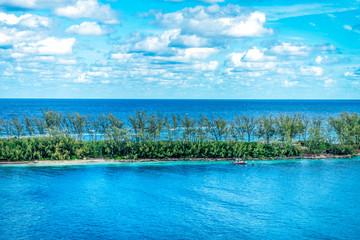 Tropical Island Shoreline