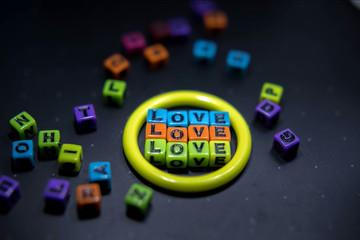 color love , valentin