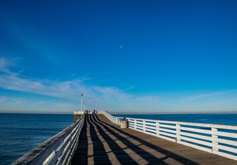 Early Morning Shadows on Crystal Pier