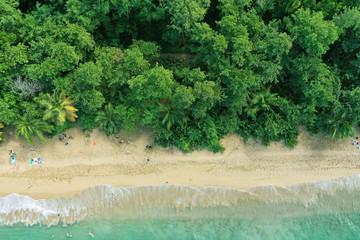 French Guadeloupe. Caribean island.