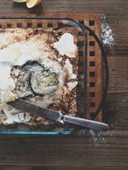 fish baked in salt  crust