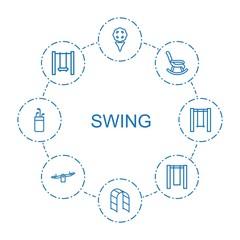 swing icons