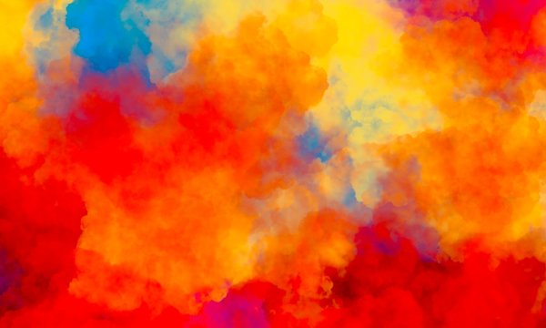 grunge colorful painting background with space for text
