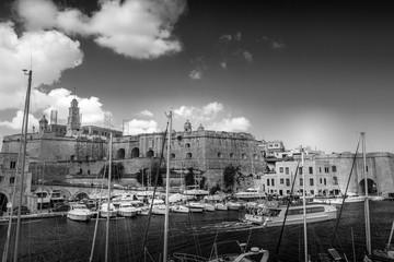 Birgu - Vittoriosa city in Malta