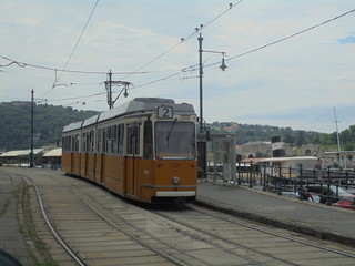 Tram a Budapest