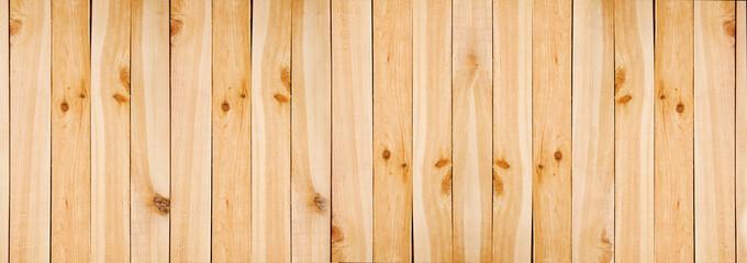 Fotoväggar - Raw pine planks background texture