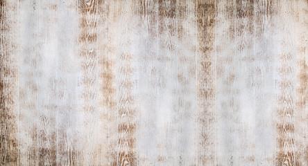 Fotoväggar - Old white wooden planks background