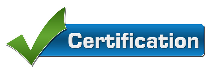 Certification Green Tick Mark