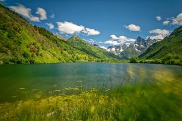 Caucasus, Karachay-Cherkessia Region, Teberda Reserve, Lake Tumanly-Gel,
