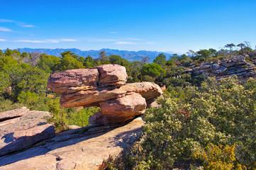 Aussichtspunkt Garbi bei Sagunt, Valencia in Spanien - Mirador Garbi near Sagunt, Valencia