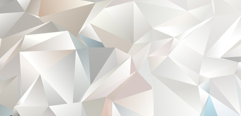Abstract Low-Poly triangular modern background Wall mural