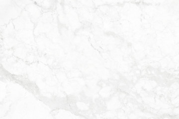White marble background with rough surface.