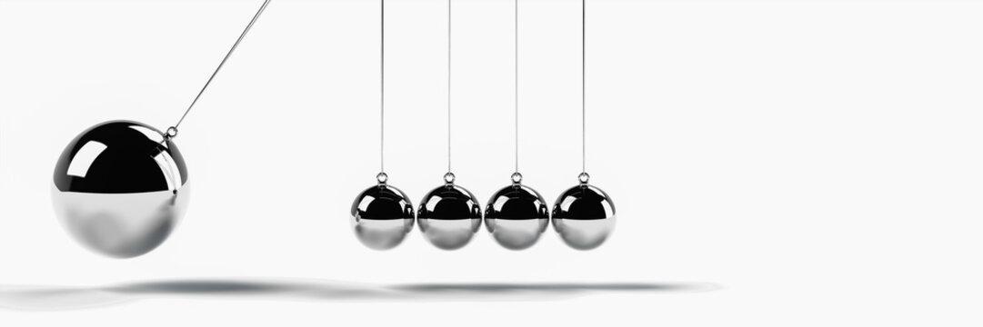 より大きい球で衝突させるシーン(WEBバナー用)