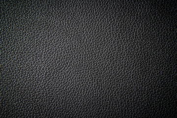 Black leather texture background Wall mural