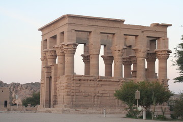 Temple Of Isis Philae Island Aswan Egypt