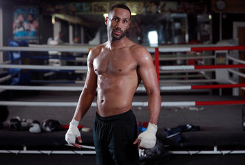 James DeGale Workout ahead of his clash with Chris Eubank Jr