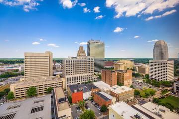 Foto op Plexiglas Zalm Winston-Salem, North Carolina, USA skyline f